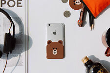LINE Friends Character BROWN iPhone Case for 5/5S, 6, 6 Plus