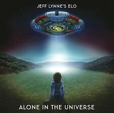JEFF LYNNE'S ELO-ALONE IN THE UNIVERSE  CD LIMITED EDITION + 2 BONUS TRACKS NEU