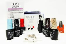 OPI Nail Gelcolor BREAKFAST at TIFFANY'S Gel Color Kit #1 +  #2 - 12 colors /box
