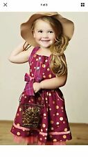 NICOLETTA DRESS MATILDA JANE SIZE 8 FRIENDS FOREVER W/ POLKA DOTS VERY SWEET NEW