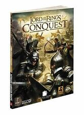Lord of the Rings Conquest: Prima's Official Game Guide by Mike Searle...