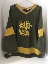 RARE original vintage OG Walker Wear Jersey as worn by TUPAC SHAKUR 2Pac GREEN