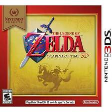 The Legend of Zelda: Ocarina of Time 3D (Nintendo 3DS, 2011) *NEW, Free S&H*