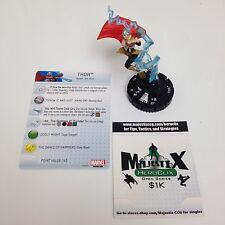 Heroclix Agent of SHIELD set Thor (Jane Foster) #050 Super Rare figure w/card!