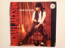MICHAEL JACKSON - 1988 Vinyl 45rpm Single - LEAVE ME ALONE