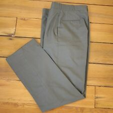 Vintage US Military OD Green Wool Serge Class 6 Dress Pants Trousers 30 x  32
