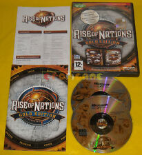RISE OF NATIONS GOLD EDITION Pc Versione Ufficiale Italiana Nation »»»» COMPLETO