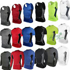 Men Compression Under Base Layer Top Running Gym Athletic Casual Shirt Vest Tank