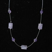 """SILPADA - N2350 - Sterling Silver & Amethyst """"Glowing Review"""" Necklace - RET"""