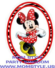 Minnie Mouse  Iron-on Transfer for white T-shirt #RZR