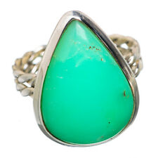 Chrysoprase 925 Sterling Silver Ring Size 8 Ana Co Jewelry R815081F