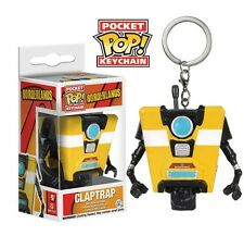Funko Pocket Pop Keychain Borderlands - Claptrap Vinyl Collectible Action Figure