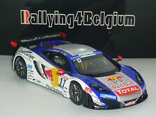 1/43 Spark McLaren MP4-12C #17 Redbull French GT Tour 2012 Loeb Vannelet SF067
