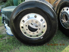 michelin 305/85/22.5 XZU 3 steer tire bus semi kw pete international low milage