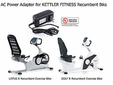 AC DC Power Adapter for KETTLER FITNESS LOTUS R GOLF R Recumbent Exercise Bikes