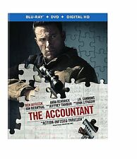 THE ACCOUNTANT (Ben Affleck) -  Blu Ray - Sealed Region free