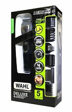 WAHL LITHIUM ION RECHARGEABLE DELUXE GROOMING STATION WITH 5 YEAR WARRANTY 230V