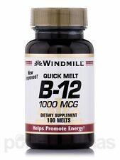 Windmill Vitamin B-12 1000 mcg Tablets Sublingual 100ct