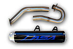 Suzuki LTR450 Dasa Classic Series Complete New Exhaust Pipe System Blue Logo
