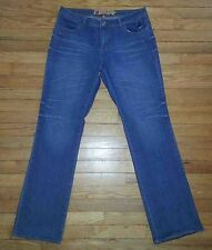 Sz 9/10 34x34 Blue APPLE BOTTOMS Sweet to the Core Designer Jeans! 2295