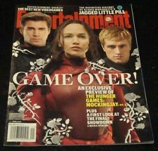 ENTERTAINMENT WEEKLY 2015, Hunger Games, Jennifer Lawrence, Liam Hemsworth