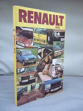 Renault 1978 -  Brochure - Illustrated - Many Models