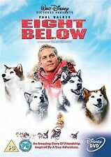 Eight Below Paul Walker, Bruce Greenwood, Moon Bloodgood NEW SEALED UK R2 DVD