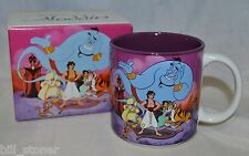 The Disney Store Classic Aladdin Ceramic Coffee Mug 12oz Cup With Box