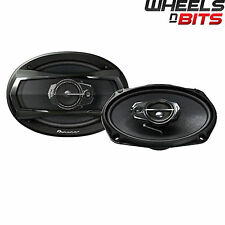 "Pioneer TS-A6933IS 6x9"" inch 3 Way Car Speakers Rear Shelf 1100Watts 180RMS SET"
