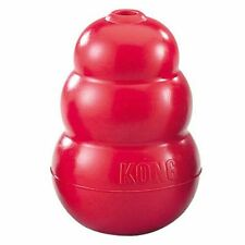 Kong CLASSIC RED Original Rubber Best Dog Chew Puppy Treat Fetch Toy Medium, Red