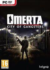 Computer PC Spiel Omerta - City of Gangsters DVD Versand NEU