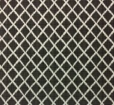 "OUTDURA LAVALIER CHARCOAL GRAY LATTICE OUTDOOR INDOOR FABRIC 54""W"