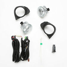 For 2003-2005 Toyota Echo Clear Lens Fog Lights Kit w/Bezel Switch Wiring Bulbs