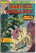 (1975) MARVEL GIANT-SIZE CHILLERS #3 WRIGHTSON! KIRBY! COLAN! BARRY SMITH! FINE