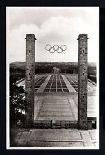 465-GERMAN EMPIR-Third REICH.Postcard OLYMPICS GAMES BERLIN.WWII.DEUTSCHES REICH