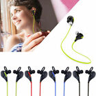 Wireless Bluetooth 4.1 Stereo Earbuds Sports Mic Headphones QY7 Headset Earphone