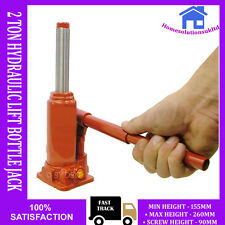 NEW 2 TON HYDRAULIC LIFT BOTTLE JACK CAR RAM TRUCK VAN BOAT GARAGE LIFTING 2T
