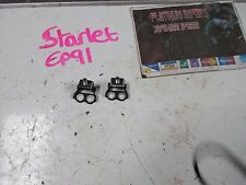 Toyots starlet glanza v ep91 import jdm rear boot tail gate hinges pair black