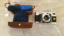 Vintage Voigtlander Vitessa Camera with 50mm 1:3.5 Color Skopar Lens