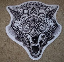 "BIOWORKZ Art Sticker 5"" WOLF HEAD poster print like shepard fairey obey"