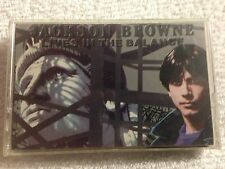 Jackson Browne 1986 'Lives in the Balance' Cassette Tape - Columbia House