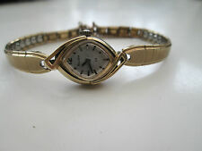 LADIES VINTAGE BULOVA WATCH, 1962 M2, KREISLER USA STRAP TICKING WELL,