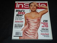 2003 SEPTEMBER IN STYLE MAGAZINE - SALMA HAYEK FRONT COVER - FASHION - J 2982