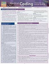 Medical Coding - Icd-9-Cm and ICD-10 Pcs Vol. 3 by Inc. BarCharts (2012,...