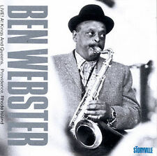 BEN WEBSTER Live at Kings & Queens  Providence, Rhode Island 1963 swing jazz