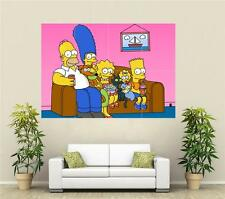 Simpsons 1 Huge Promo Poster T628