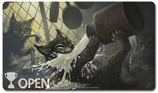 Star City Games Open Series 2016 Season One Playmat - Kitchen Lynx MTG SCG