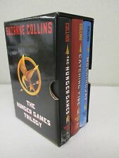 The Hunger Games Trilogy by Suzanne Collins boxed set of 3 Hardcovers NEW