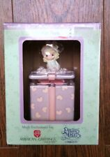 PRECIOUS MOMENTS *FOR MOM* Covered Box with Two-Sided Lid Year 2003 With Box*NEW