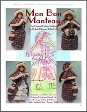 """Mon Bon Manteau""  Fashion Pattern for Ellowyne  Wilde"